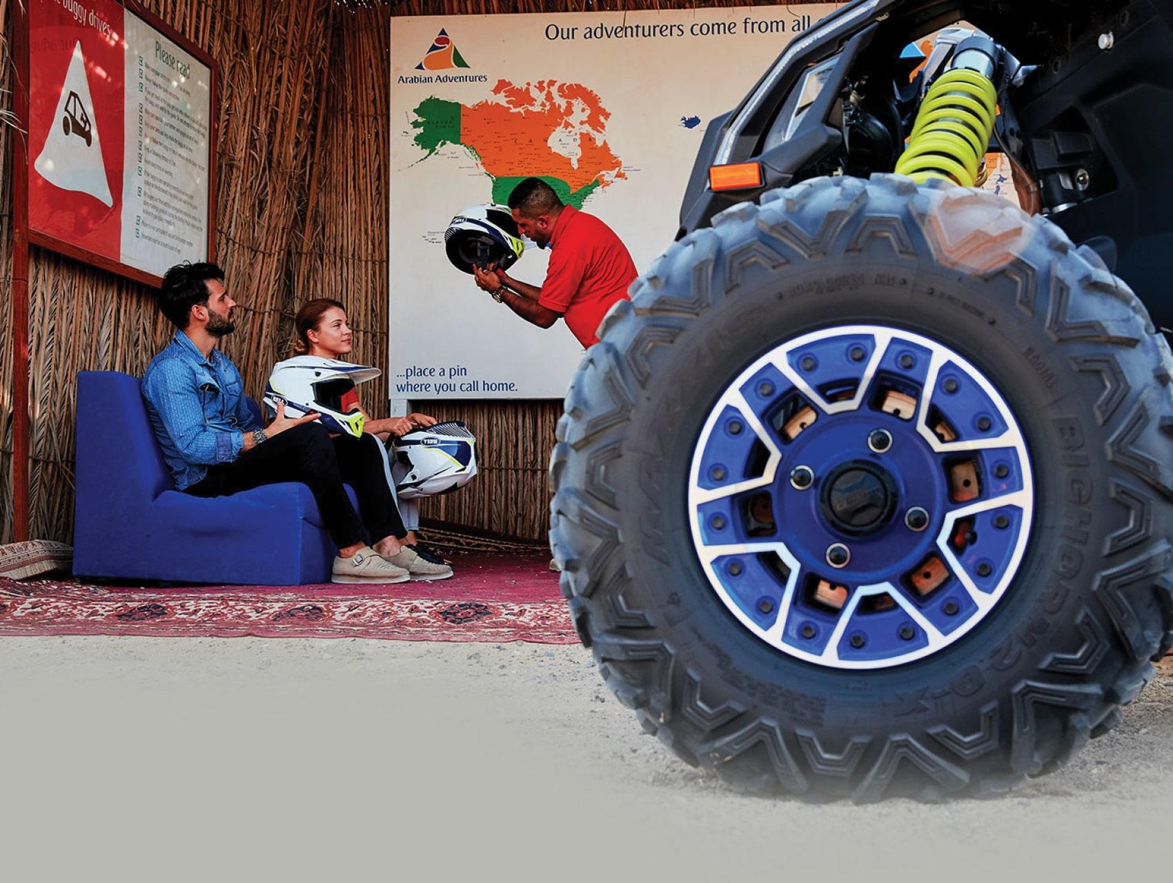 Let the dune buggy adventure begin with Arabian Adventures