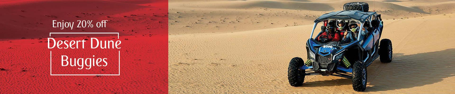 20% off on Desert Dune Buggies