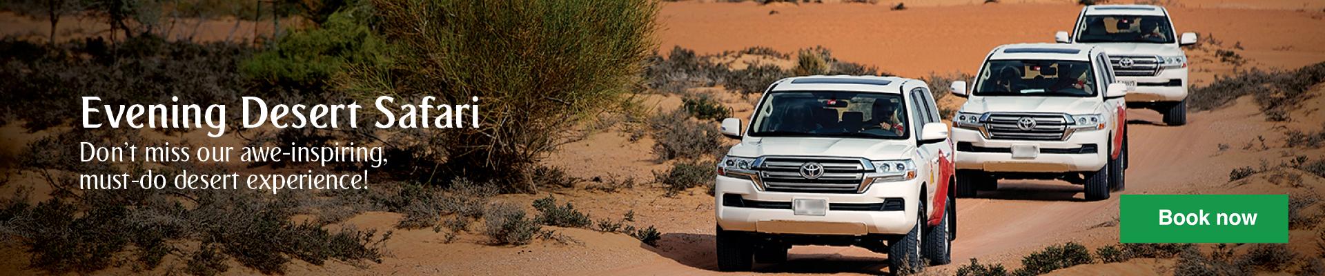Spot Arabian wildlife in Dubai Desert Conservation Reserve