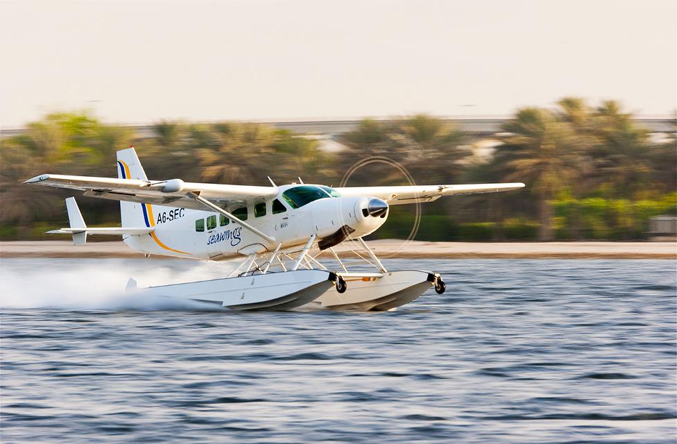 Seaplane tours dubai
