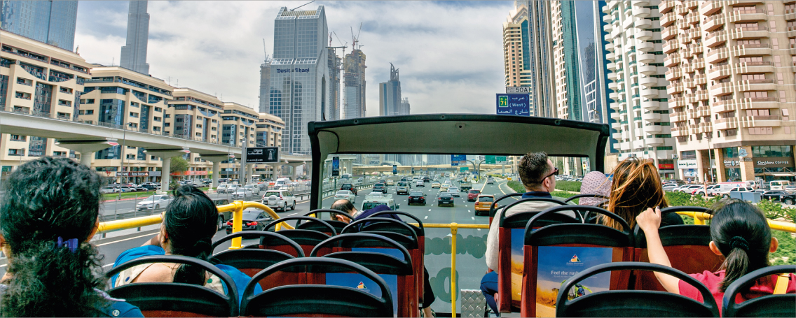 Red Route Bus Tour Dubai