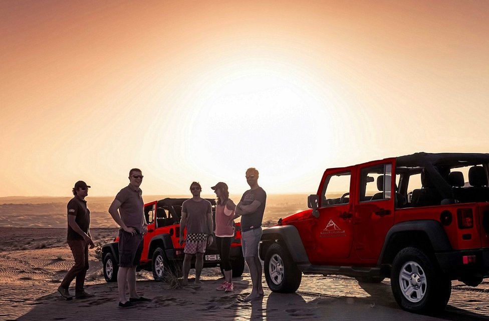 Enjoy Jeep Safari to Ras al Khaimah & Fujairah