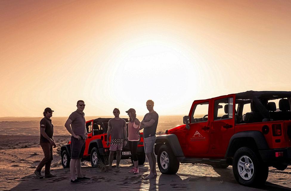 Enjoy Jeep Safari to Ras al Khaimah & Fujairah