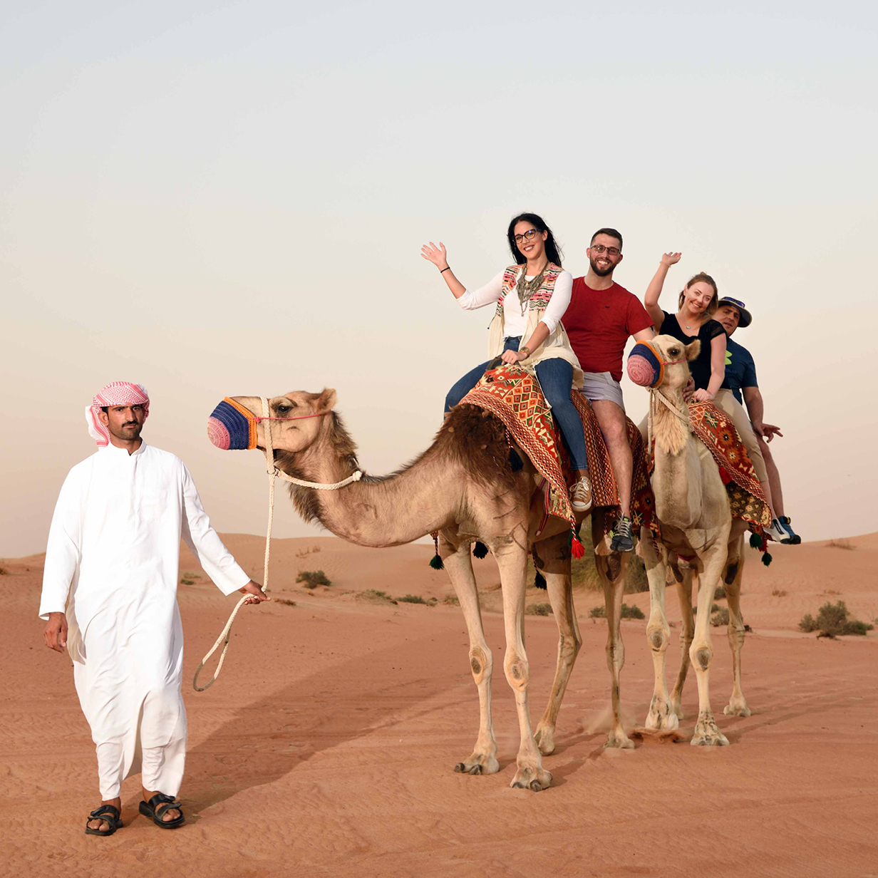 Morning Desert Safari in Dubai Private Vehicle, , large