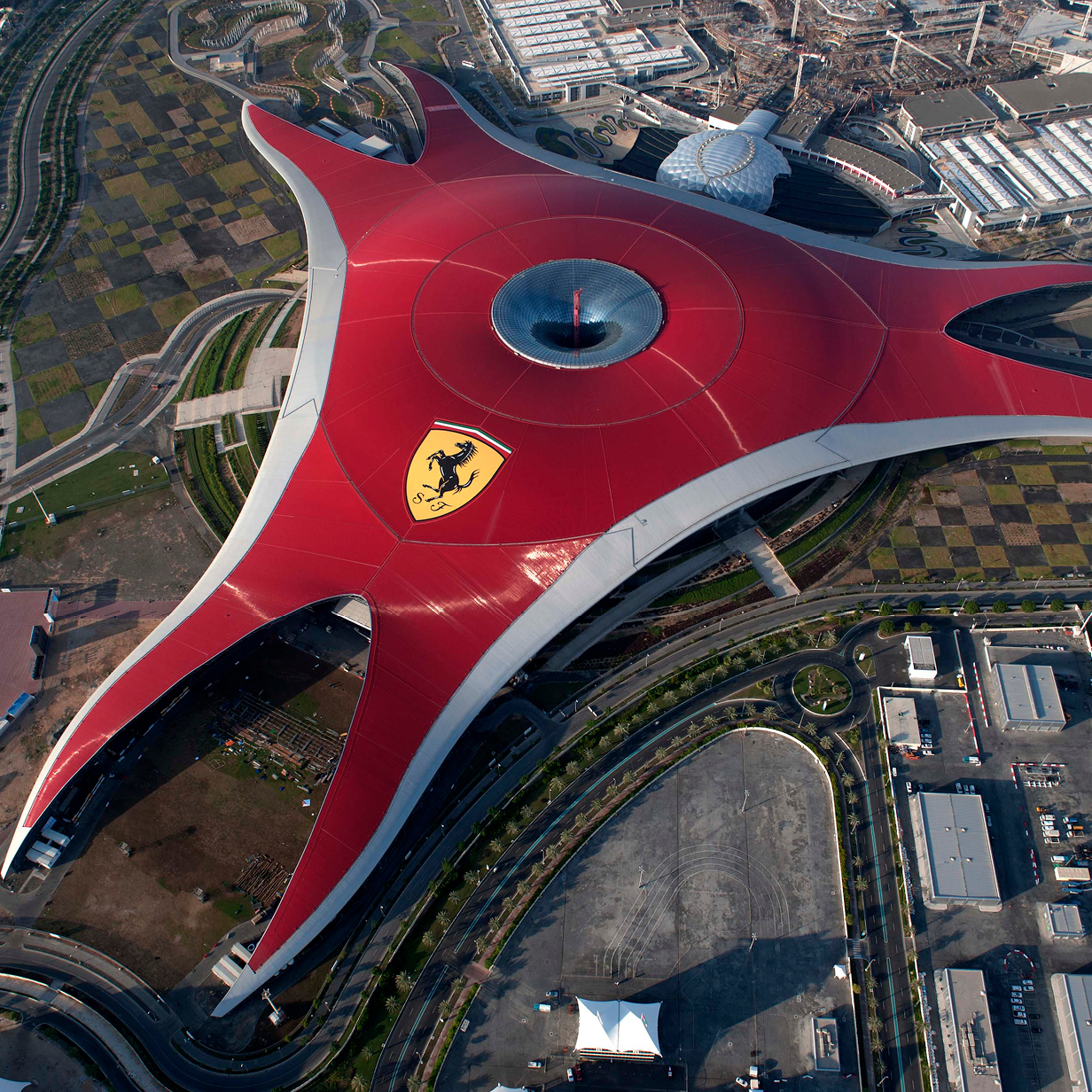 Ferrari World Abu Dhabi, , large