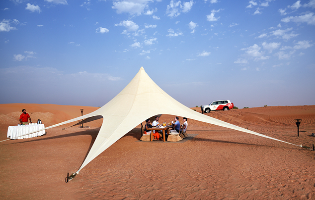 Morning Desert Safari in Dubai Private Vehicle