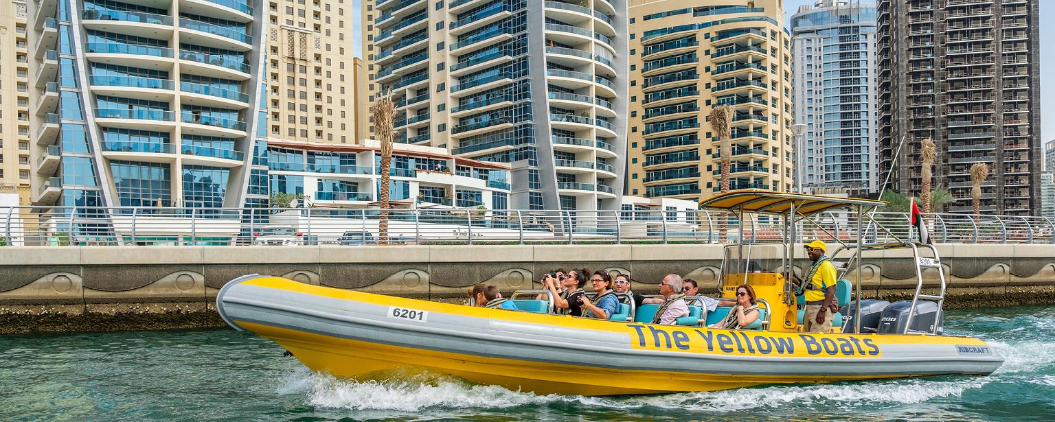 Boating Adventures in Dubai