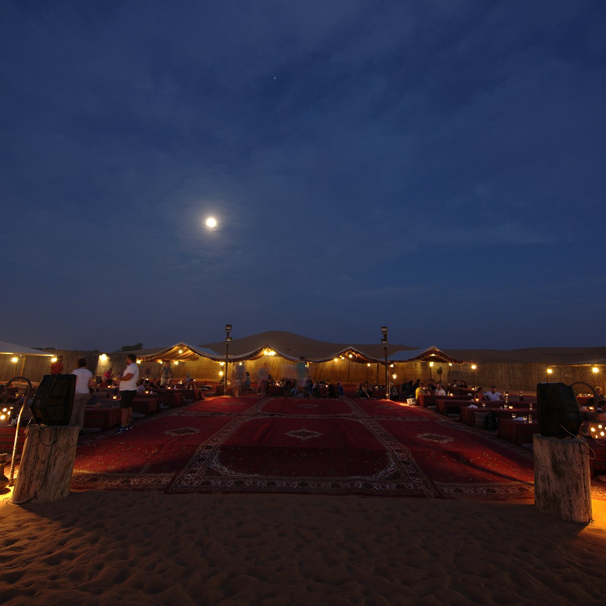 Evening Desert Safari in Dubai Private Vehicle, , large
